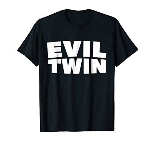 Evil Twins Funny Halloween Shirt Best Friend Costume