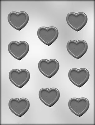 - CK Products Heart with Border Chocolate Mold