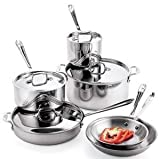 All-Clad Stainless Cookware Set - 10 pcs