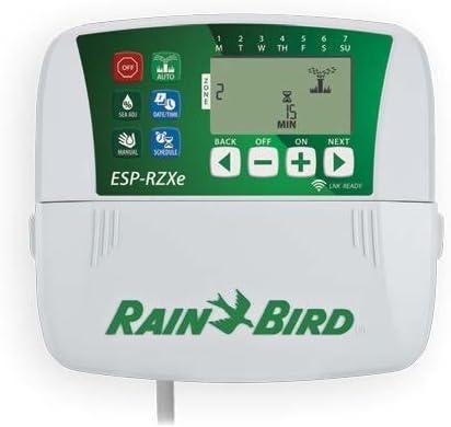 Rain Bird RZXe con predisposici/ón WiFi Programador de riego con 6 zonas de interior