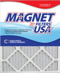 17x19x1 (Actual Size) Magnet by FiltersUSA 1-Inch Filter (MERV 8) 4 filter pack - One Years Supply