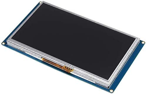 Digitalkey Nextion NX8048T070 Pantalla de 7 pulgadas HMI Smart USART UART Serie M/ódulo Panel t/áctil TFT LCD para kit Raspberry Pi y Arduino