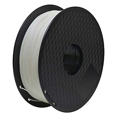 ABS 3D Printer Filament, Geeetech 1.75mm ABS Filament, 1KG Spool, White