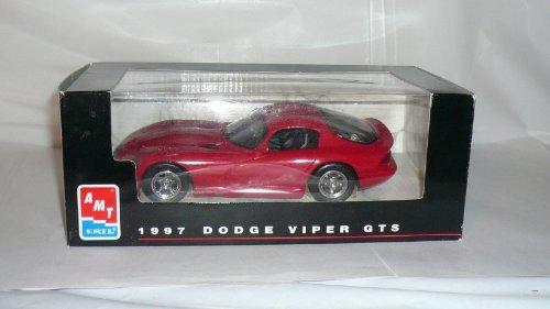 #8416 AMT/ Ertl 1997 Dodge Viper GTS,Red 1/25 Scale Plastic Promo Model Car, Fully Assembled (Promo Model Car)