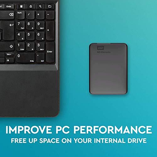 Western Digital Elements Portable, externe Festplatte - 2 TB - USB 3.0 - WDBU6Y0020BBK 5