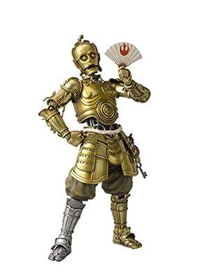 "Bandai Tamashii Nations Meisho Movie Realization Honyaku Karakuri C-3PO ""Star Wars"" Action Figure"