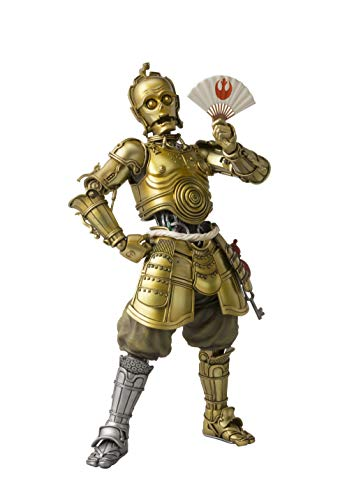 "Bandai Tamashii Nations Meisho Movie Realization Honyaku Karakuri C-3PO ""Star Wars"" Action Figure"