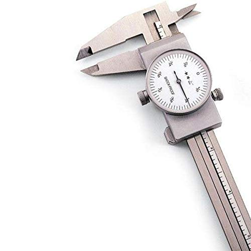 Stainless Steel Fractional Inch Dial Caliper by ''Stainless''