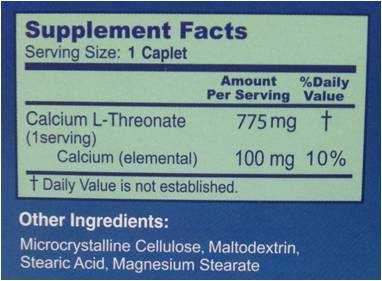 Amazon.com: BioCalth® Patented Calcium L-threonate Caplets- New Generation Nutrient for Bone and Joint Health - 90 Caplets: Health & Personal Care