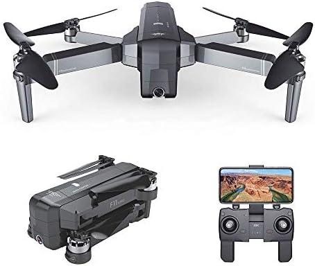 WANGKM Drone Plegable, WiFi FPV GPS sin escobillas con 1080P 120 ...
