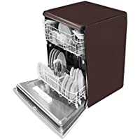 Dream Care Waterproof Dishwasher Cover For Bosch SMS60L12IN Free-Standing 12 Place Settings Dishwasher-Coffee
