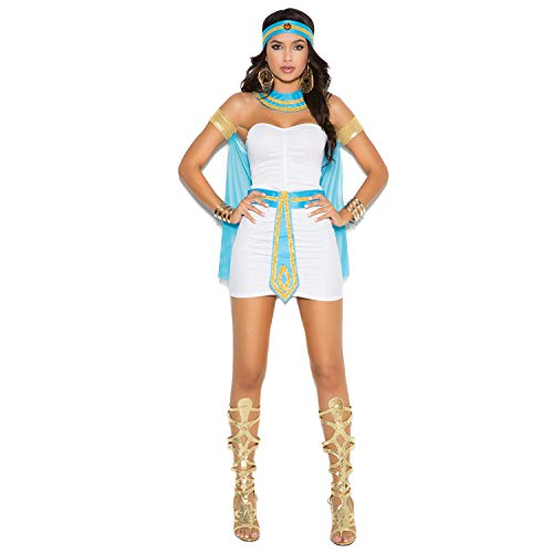 LCMJ WS Persian Princess Halloween Party Costume for Women Short Skirt White (Size : L)