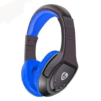ETTE MX333 - Auriculares de diadema inalámbricos con Bluetooth (plegables, con micrófono Hi-