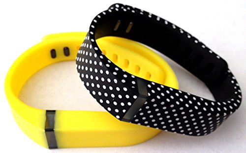 Yellow Fitbit Clasps Replacement tracker