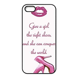 Pink high-heeled shoes Cell Phone Case for iPhone 5S