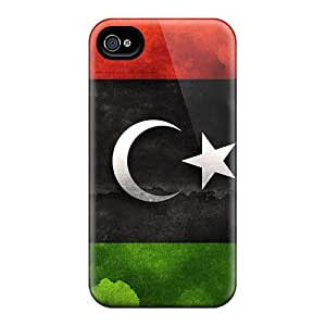 Cases Covers For Iphone 6plus Strong Protect Cases - Modern Libya Flag Design