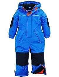 iXtreme Little Boys' Snowmobile One Piece Winter Snowsuit Ski Suit Snowboarding, Blue, 7