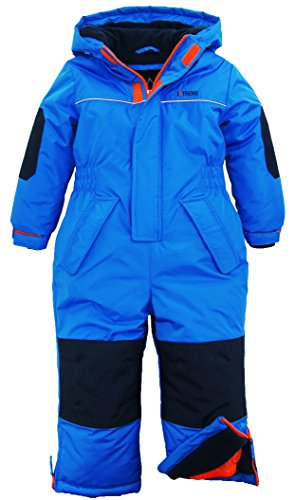 iXtreme Little Boys' Snowmobile 1-Piece Winter Snowsuit Ski Suit Snowboarding, Blue, 7 by iXtreme
