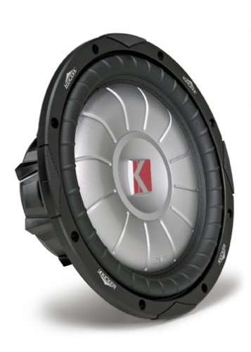 Kicker CompVT 07CVT124 12-Inch 300mm 4-Ohm SVC Subwoofer - Kicker Shallow Mount