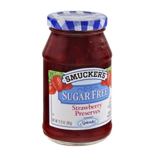 (Smucker's Sugar Free, Strawberry Preserves, 12.75 Ounce (Pack of)