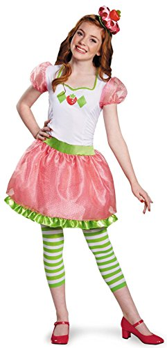 Strawberry Shortcake Halloween Costume (Strawberry Shortcake Tween Costume, X-Large (14-16))
