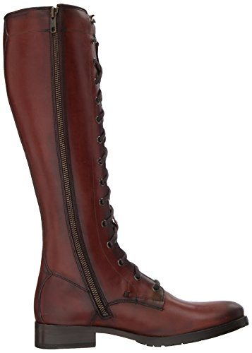 FRYE Womens Melissa Tall Lace Riding Boot Redwood IChB3lDKP