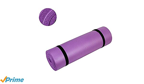 Amazon.com : Yoga Mat 1/2-Inch Extra Thick Exercise Mat All ...