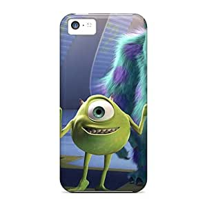 Scratch Protection Cell-phone Hard Cover For Iphone 5c With Customized Vivid Inside Out Pattern AlissaDubois