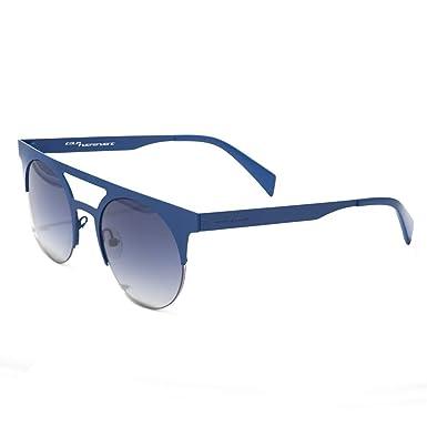 italia independent 0026-022-000 Gafas de sol, Azul, 49 ...