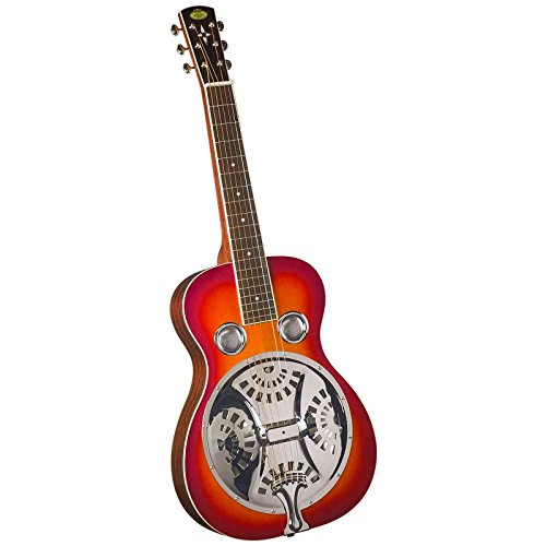 Regal RD-40CHS Studio Series Squareneck Resophonic Guitar - Cherry Sunburst