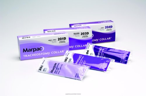 Marpac Tracheostomy Collar - Tracheostomy Collar-Universal Fit-Size: Adjustable, fits up to 19
