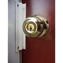 Door Lock Guard ID Door Reinforcement Device for 1-3/8 Inch Thick Interior Doors