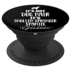 English Springer Spaniel heart PopSockets Grip and Stand for Phones and Tablets 3
