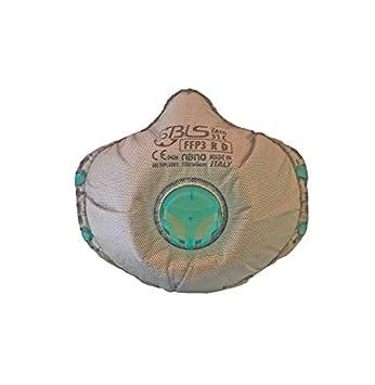 Mascaras antipolución antipartículas FFP3 con carbón activado