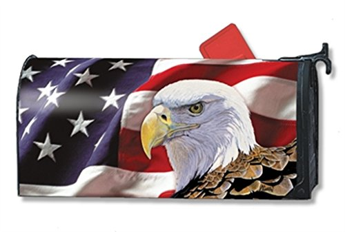 July Box (MailWraps Spirit of Freedom Mailbox Cover 01502)