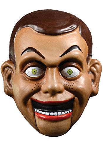 Trick or Treat Goosebumps Slappy the Dummy Vacuform Mask for Halloween