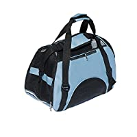 """Airline Approved Dog Carrier Soft-Sided Pet Travel Carrier by CharaVector Portable Bags for Dogs, Cats and Small Pets - 18""""L x 10""""W x 13""""H"""