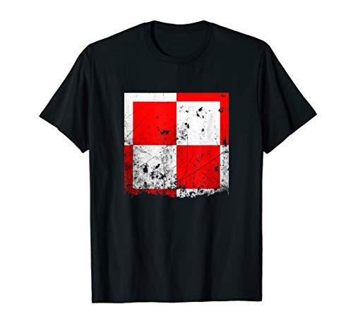 Polish Checker Air Force Army Emblem Proud Heritage Tshirt