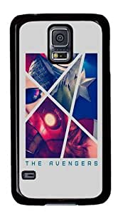 Rugged Samsung Galaxy S5 Case and Cover - The Avengers Retro Poster Custom Design PC Case Cover for Samsung Galaxy S5 - Black by ruishername