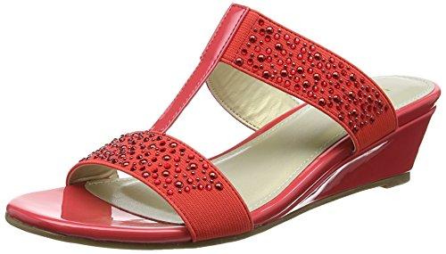 Lotus Binnie - Sandalias Mujer Pink (coral Shiny)