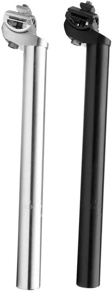 27.2mm 30.8mm 31.6mm Longueur 350-400 mm Alliage daluminium /à cr/émaill/ère Fixe avec p/én/étrateur pour VTT Tige de Selle LIZI Tige de Selle de v/élo
