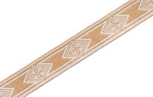 (Cross in Diamond Medieval Church Vestment StoleTrim 1