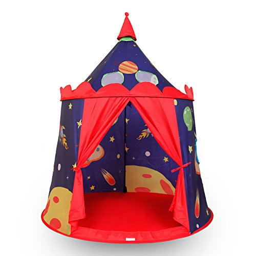 Alpika Castle Play Tent, Indoor and Outdoor Kids Playhouse with Carrying Bag (Space Cowboy) - Grand High Witch Costume