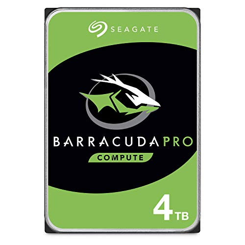 Seagate BarraCuda Pro 4TB Internal Hard Drive Performance HDD - 3.5 Inch SATA 6 Gb/s 7200 RPM 128MB Cache for Computer Desktop PC Laptop, Data Recovery - Frustration Free Packaging (ST4000DM006) (Hdd Bare Notebook Drive)
