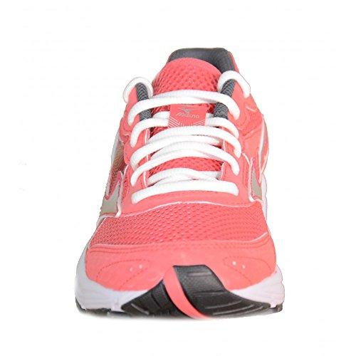 Mizuno - Mizuno Crusader 9 (W) Zapatos Running Rosa Tejido 150404 Rosa Grigio Chiaro Grigio Scuro