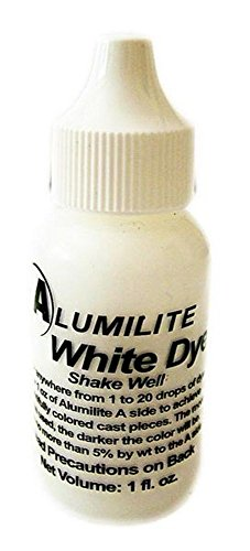Alumilite Dye White 1 OZ (1) Bottle RM