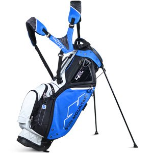 UPC 651323703101, Sun Mountain 4.5 LS 4 Way Stand Bag, Black-Cobalt-White, Golf Bag