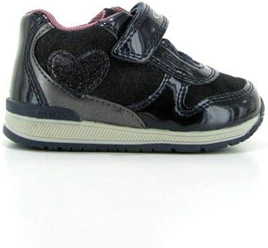 Geox B Rishon B, Sneakers Basses bébé Fille