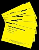 Skillstreaming Children and Youth with High-Functioning Autism--Skill Cards