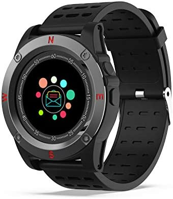 Reloj Inteligente, AIVEILE Smartwatch Bluetooth con cámara Ranura para Tarjeta SIM Pantalla táctil con Podómetro, Calendario, Escalada Reloj Corriendo ...